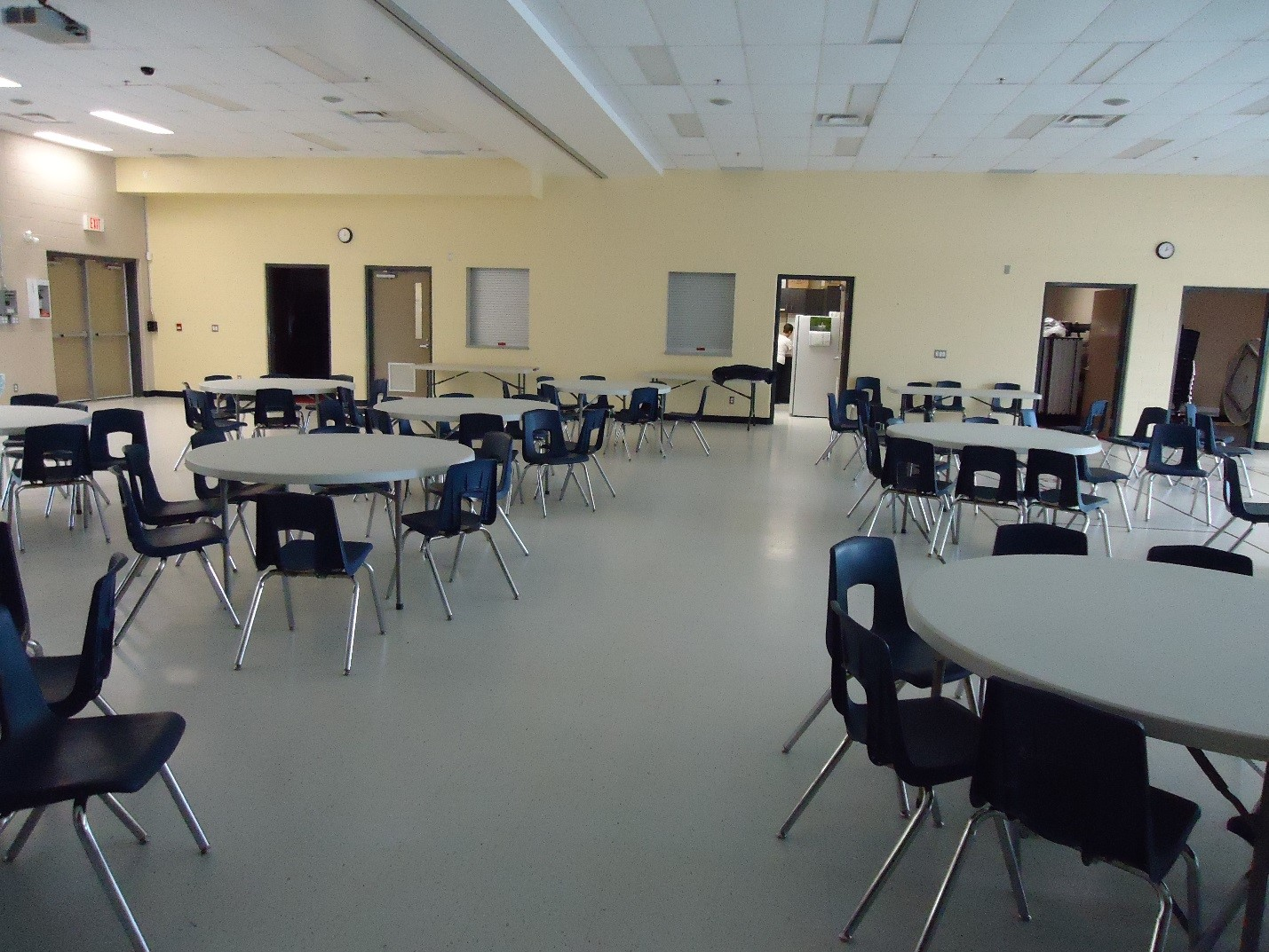 Photo of interior of King Edward Park Community Centre
