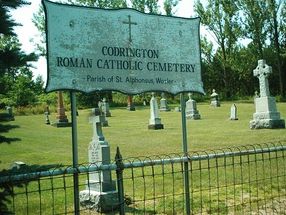 photo of Codrington Roman Catholic Cemetery