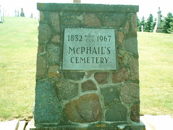 photo of McPhail's Cemetery