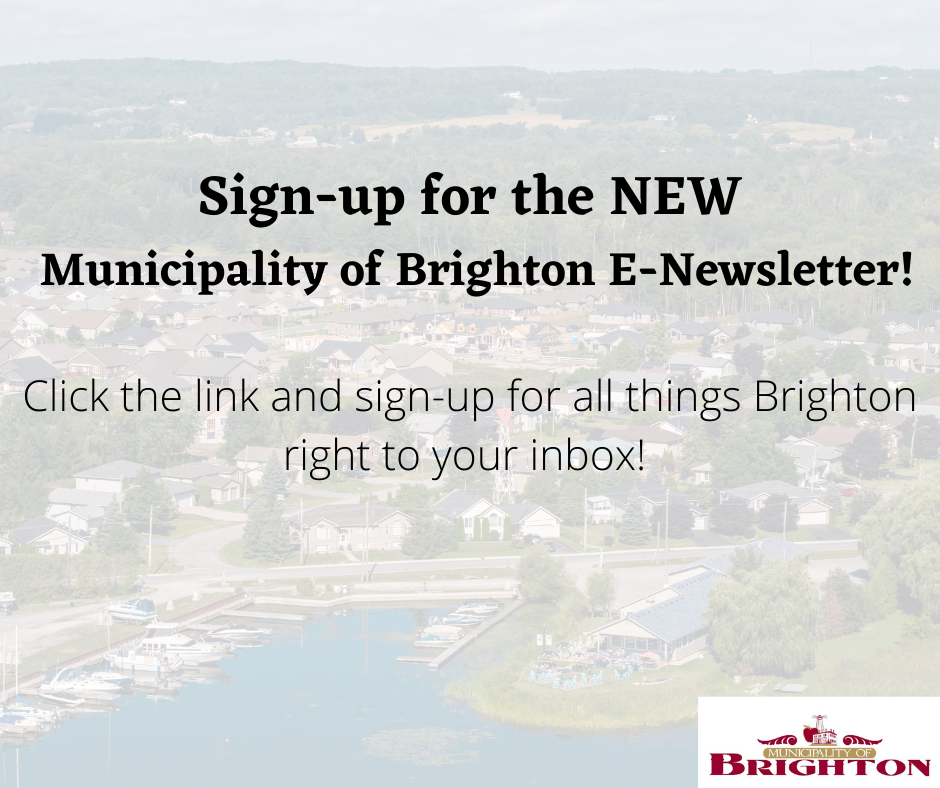Sign-up for the E-Newsletter